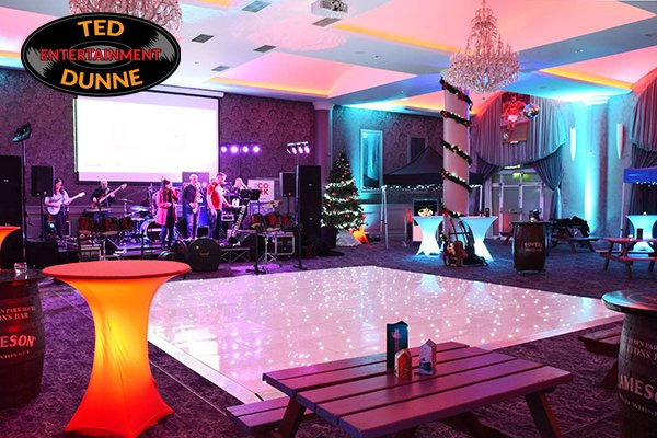 LED Dance Floor Rental for Weddings in Cork with Ted Dunne Entertainment