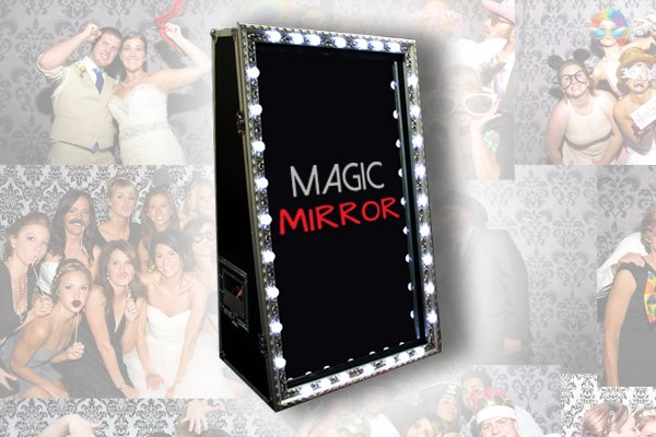 Weddings - Magic Mirror Hire with Ted Dunne Entertainment