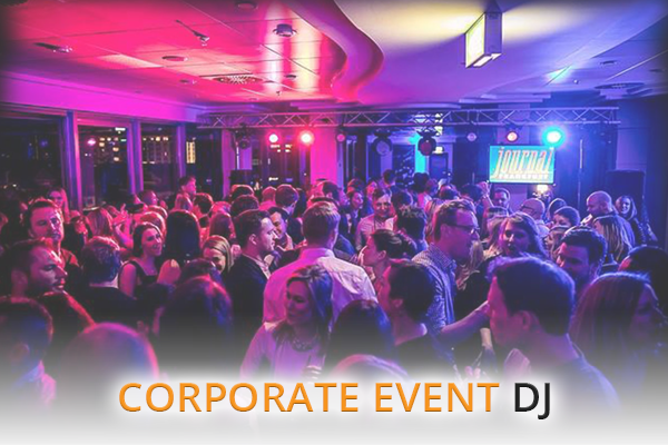 Corporate Event DJ Hire